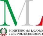 LOGO Ministero del lavoro e politiche sociali